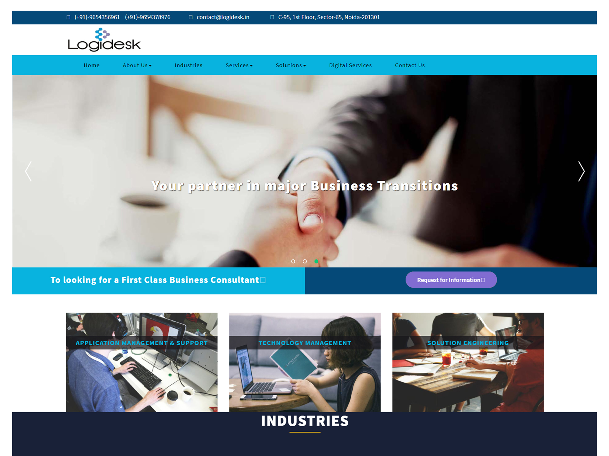 Logidesk Website